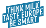 THINK MILK, TASTE EUROPE, BE SMART! Logo