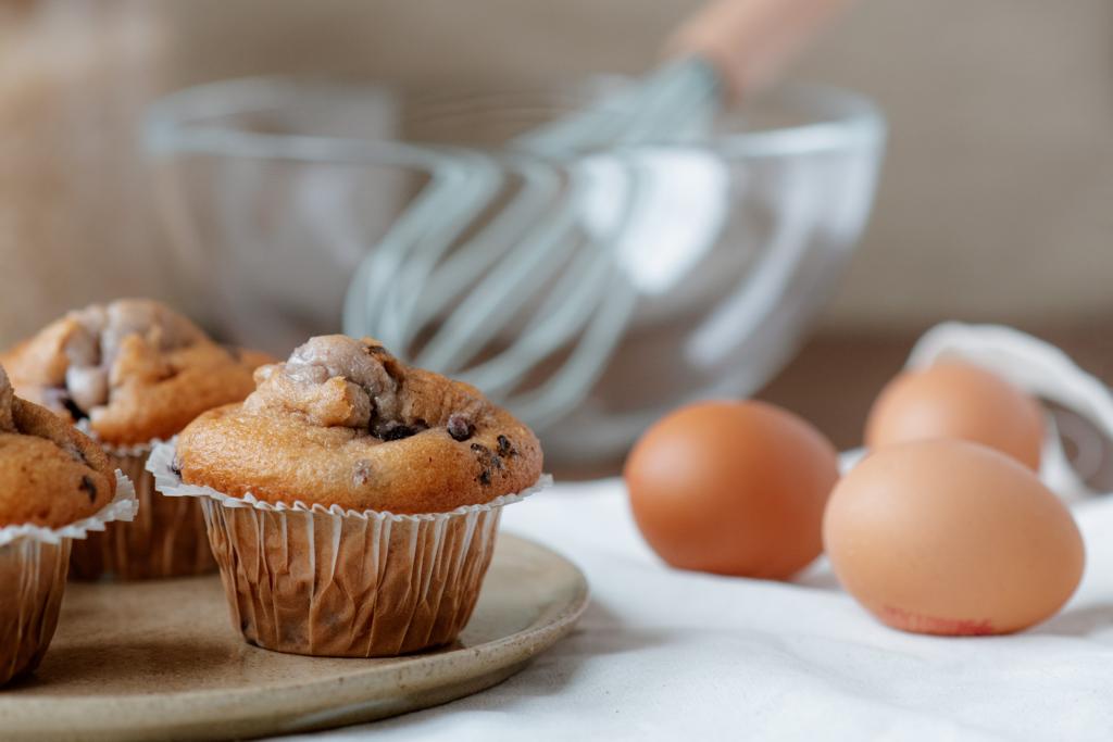 muffin allo yogurt alto e soffice