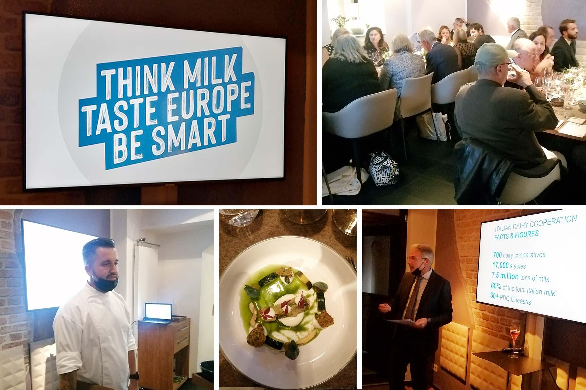 Latte e derivati: Evento Think Milk Be Smart a Monaco
